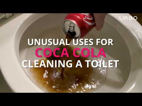 Cleaning with Coca-Cola