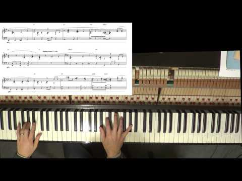 Jazzy Happy Birthday Intermediate-Advanced Piano Arrangement with sheet music