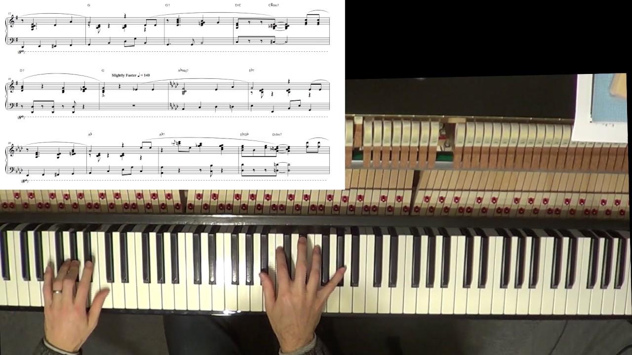 Intermediate-Advanced Piano Arrangement