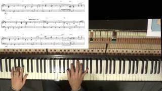 Jazzy Happy Birthday Intermediate-Advanced Piano Arrangement with sheet music