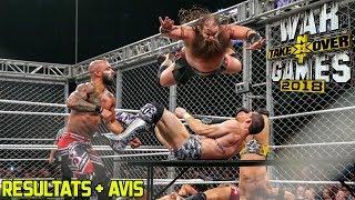 Résultats : NXT TAKEOVER WAR GAMES 2