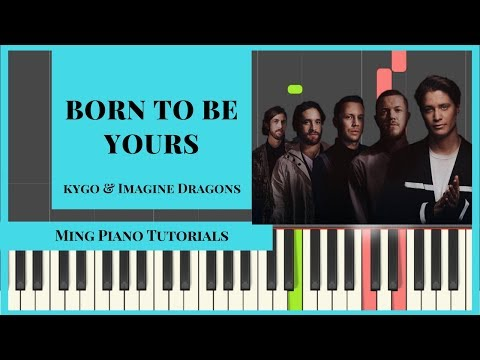 Born To Be Yours Piano Cover Tutorial (MIDI & SHEET MUSIC) Ming Piano Tutorials