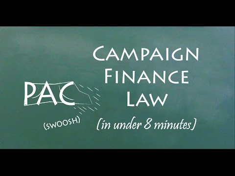 Understand Campaign Finance Law in 8 Minutes