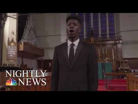 Opera Student Anthony Anderson Raises $40,000 In Performance For College Tuition | NBC Nightly News