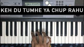 Keh Du Tumhe Ya Chup Rahu (Deewar) | Learn to Play on Piano
