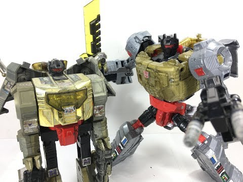 Transformers Power of the Primes Grimlock Chefatron Toy Review