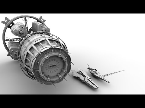 Elite Dangerous 2.2 Ship Scale Video