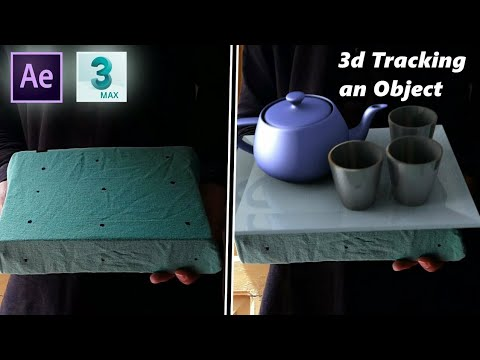 Object tracking to 3d in AfterEffects & Export to 3ds max