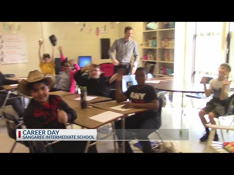 Rob Fowler visits Sangaree Intermediate School for career day! Weather 101
