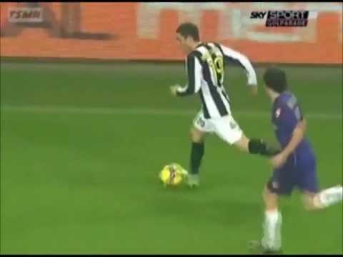 Juventus - Fiorentina 1-0 (24.01.2009) 1a Ritorno Serie A.