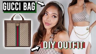 Baixar DIY GUCCI BAG into CLOTHES Tutorial! (it's fake chill lol)