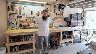 Functional Workspace - Garage Overhaul Part 2