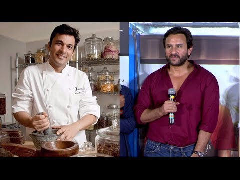 Saif Ali Khan talks about chef Vikas Khanna