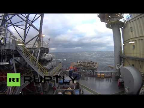 Black Sea: Footage shows Russian rig that was approached by unidentified Turkish ship
