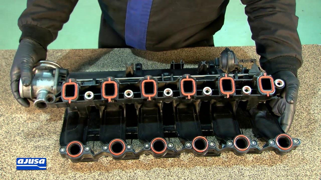 3x BMW Exhaust Manifold Gasket Set BMW 11627798177 525D 530D 535D E60 E61 M57N
