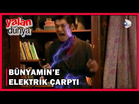Bünyamin'e, Zerrin'in Evinde Elektrik Çarptı! - Yalan Dünya 32.Bölüm