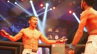 MIXED MARTIAL ARTS CHAMPION FROM MANIPUR
