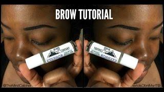 Eyebrow Tutorial |Back to the Basics| TheMindCatcher