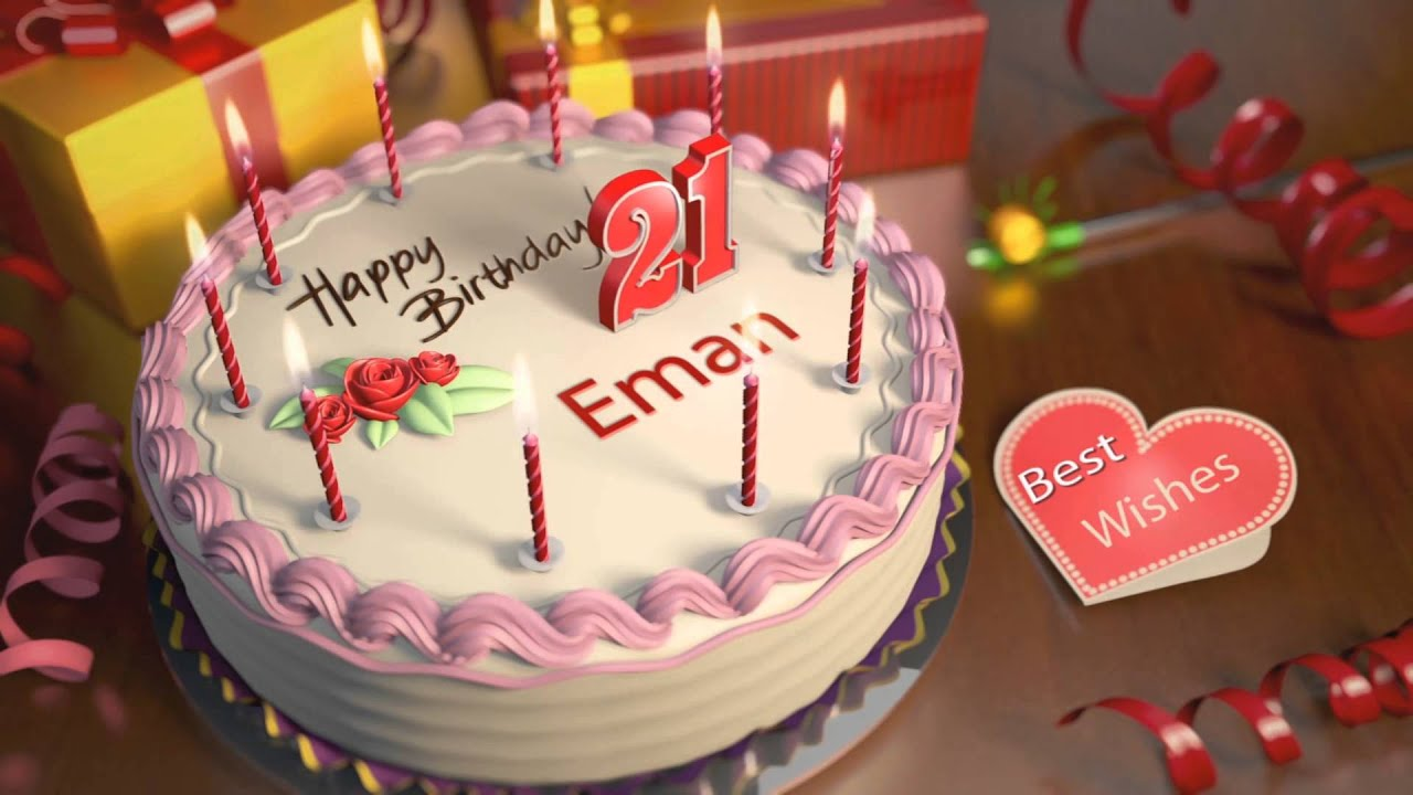 Birthday Cake Gif With Name