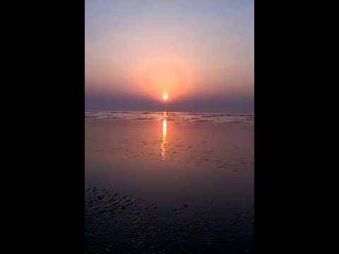 Sunrise at Chandipur, Balasore