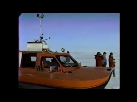 Mysterious Antarctic Video Recovered- 1988 Scott Base, Mcmurdo