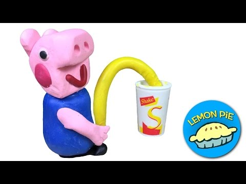 peppa-pig-george-pees-in-cup-play-doh-stop-motion-episode-compilation