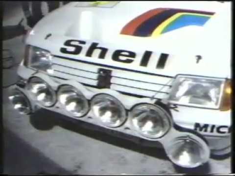 Swedish Rally 1985 Audi Sport Quattro and many Group B Cars