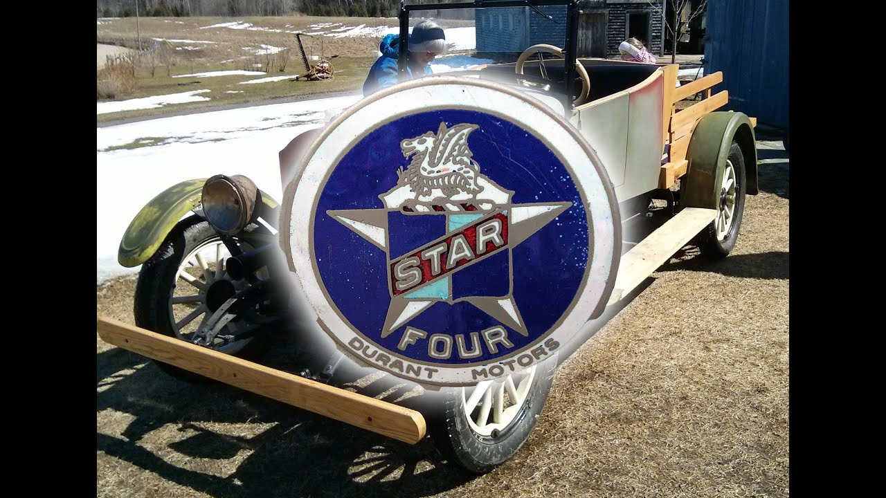Durant Motors Star 1927 Car Pickup Truck Rebuilding Youtube