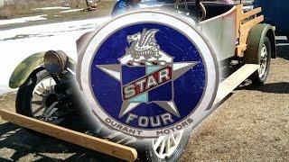 Durant motors Star 1927 car pickup truck rebuilding