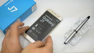 Samsung Galaxy J7 2017 unboxing