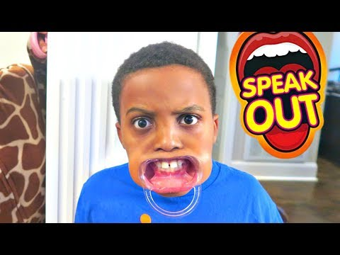 Thumbnail: Bad Baby Creepy Stalker! - MOUTHGUARD Speak Out Game Shasha And Shiloh - Onyx Kids