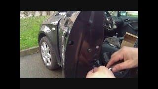 Seat, Golf, Audi  démontage et montage  serrure