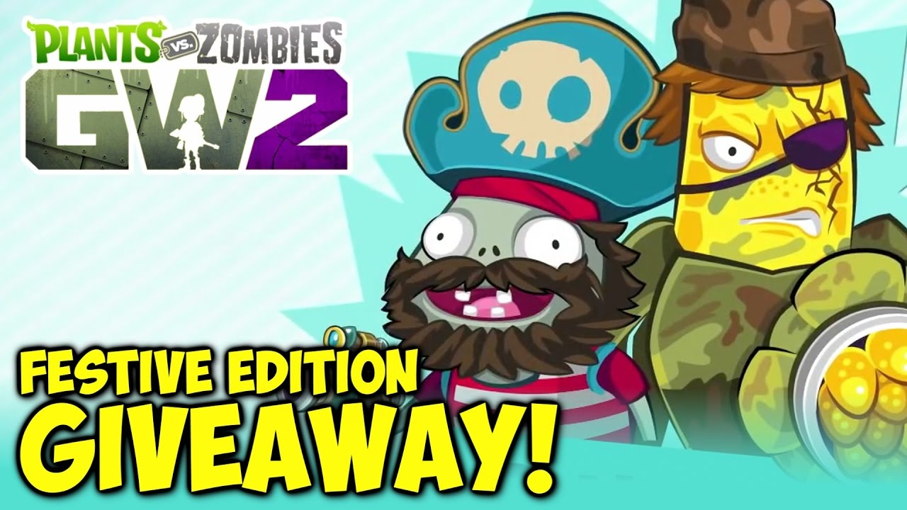 Festive Edition Code GIVEAWAY! [FINISHED] | Plants vs Zombies: Garden  Warfare 2