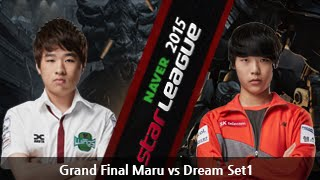 [SSL 2015] Maru vs Dream Grand Final Set1 -EsportsTV, Starcraft 2