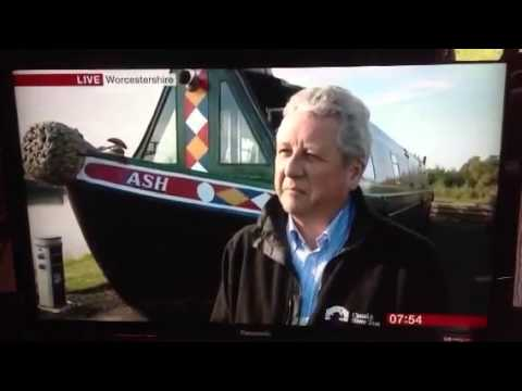BBC Breakfast News From Droitwich Spa Marina - 11th July 20