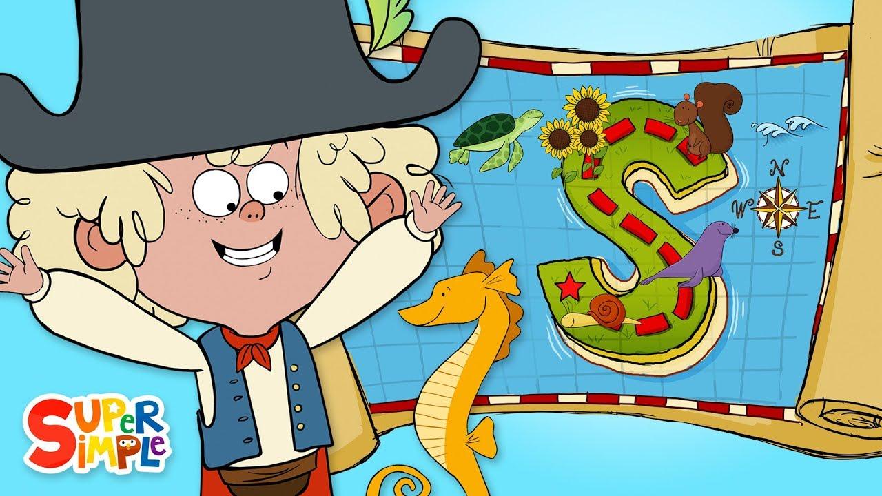 Captain Seasalt and the ABC Pirates go on a Spectacular Adventure on S Island