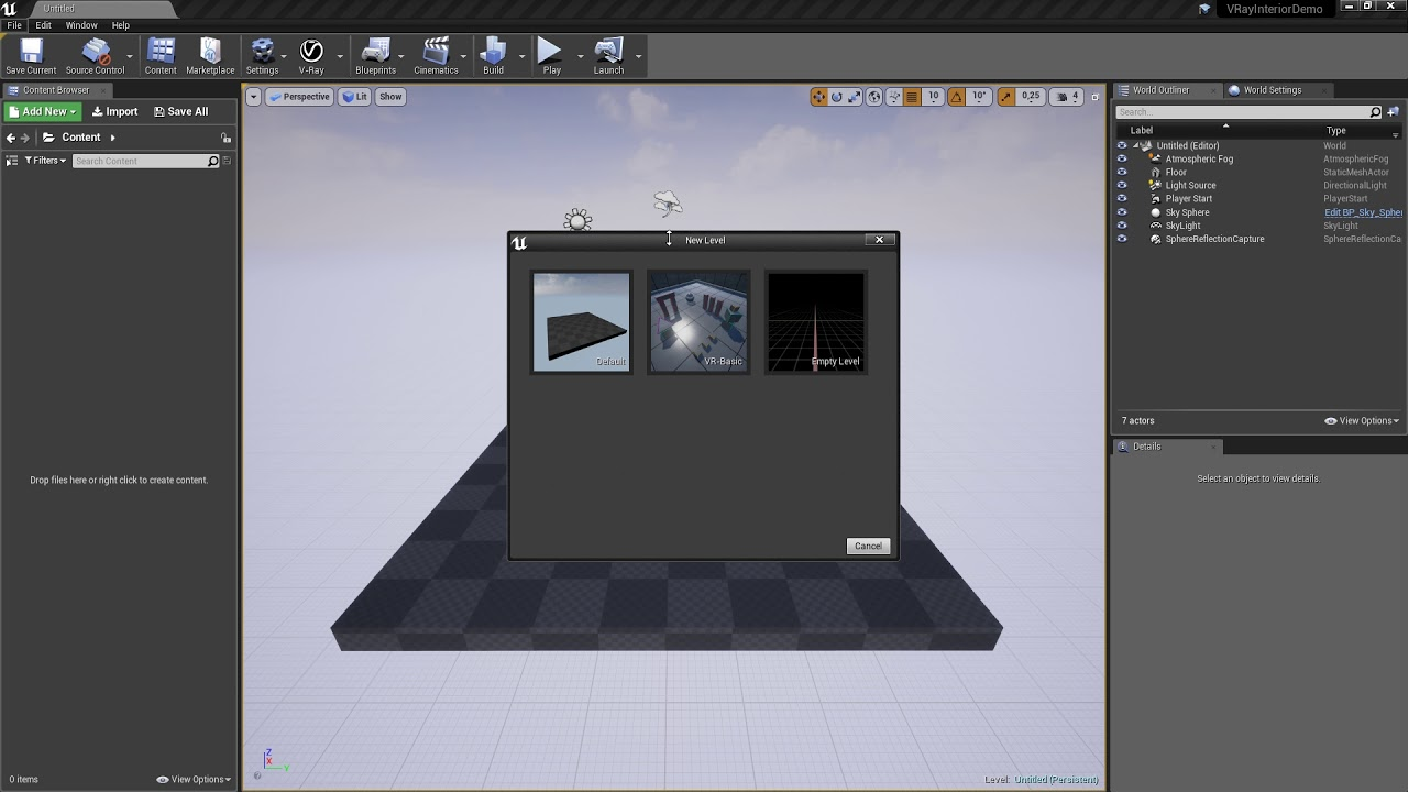 Intro Importing  vrscene QuickStart - V-Ray for Unreal - Chaos Group