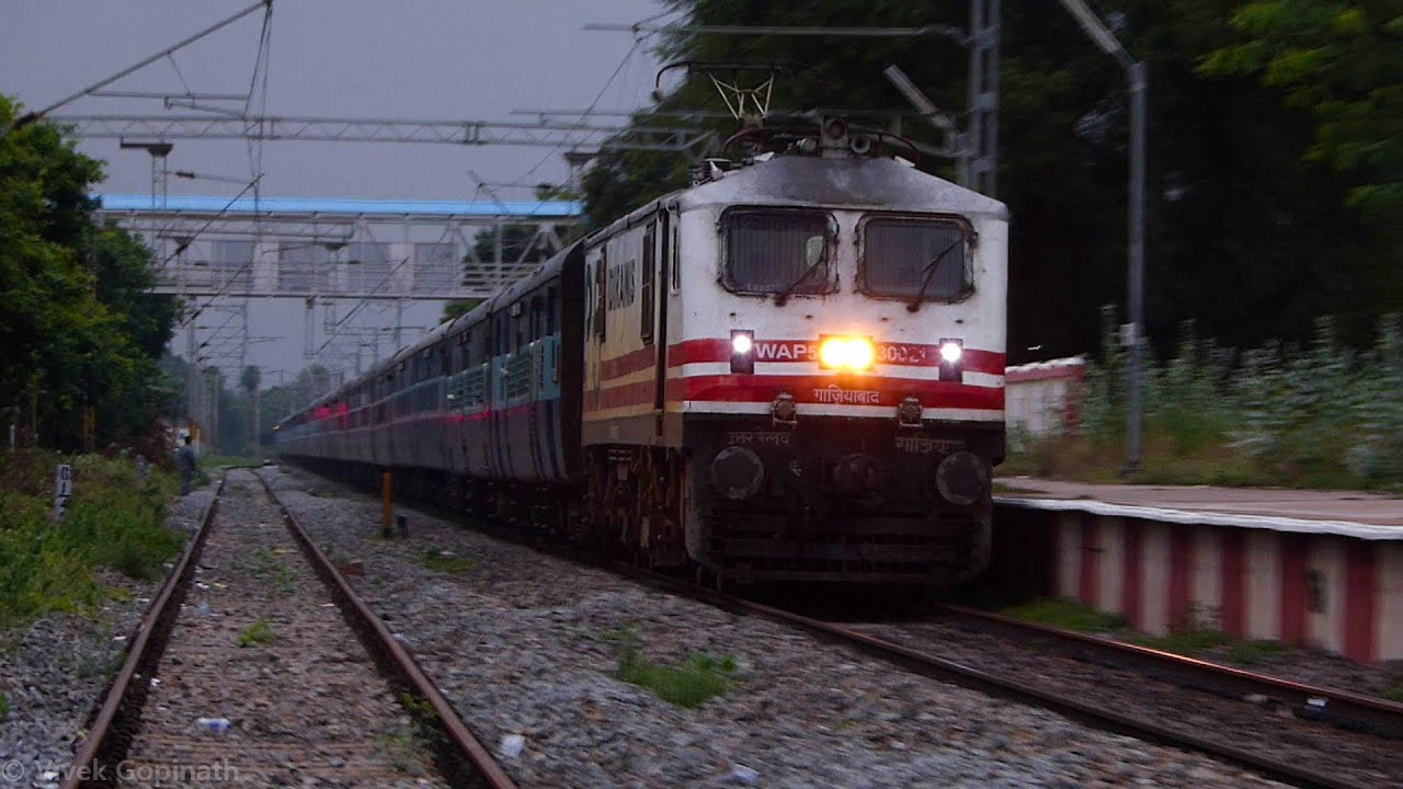 fastest train engine surprise visit youtube
