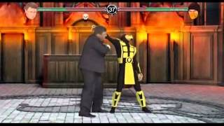 "Пародия на игру ""Mortal kombat"""