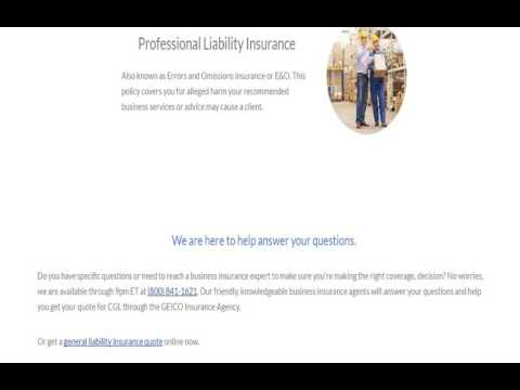 liability insurance quote online