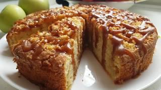 Ирландский Яблочный пирог. Рецепт простого и вкусного пирога.