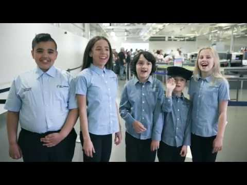 East Midlands Airport Security Video
