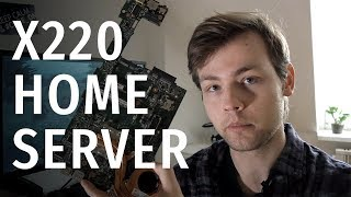 Turning Laptop Motherboard Into... A Home Server?