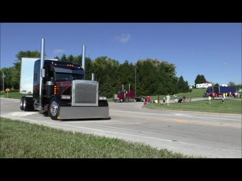 Wisconsin's Largest Truck Convoy 2016