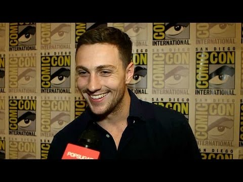 """Aaron Taylor-Johnson Says """"I Really Don't Fit the Bill for Christian Grey"""" 