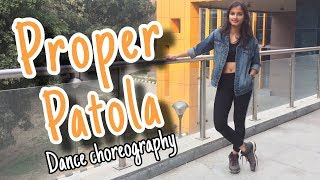 Proper Patola - Badshah song | Dance Cover Video | Freestyle Dance Choreography | CRIMINALZ CREW