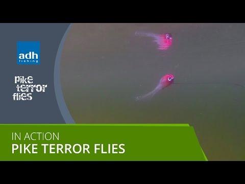 Pike Terror Flies in Action