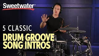 5 Classic Drum Groove Song Intros 🥁 | Drum Lesson