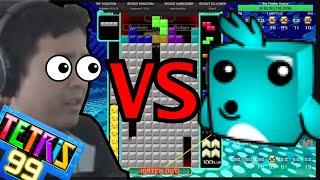 TETRIS 99  - THE ULTIMATE SHOWDOWN TAFO VS WUMBO (18 KO GAME)