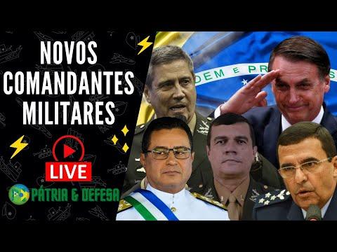 Brasil e Seus Novos Comandantes Militares